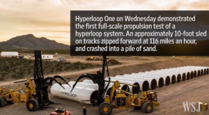 Hyperloop Technology Tested Successfully in Nevada