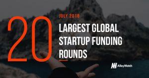 The 20 Largest Global Startup Funding Rounds of July 2018