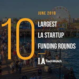 These are the 10 Largest LA Startup Funding Rounds of June 2018