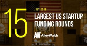 These are the 15 Largest US Startup Funding Rounds of July 2018