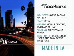 This LA Startup Enables Fans to Own Racehorses Through a Smartphone App